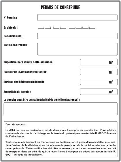 Huissier toulouse xavier arnaud for Recours administratif permis de construire